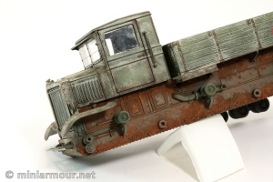 Voroshilovets Artillery tractor – Part 8: Mud