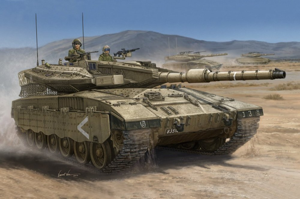 The tale of two Merkavas (2/2)
