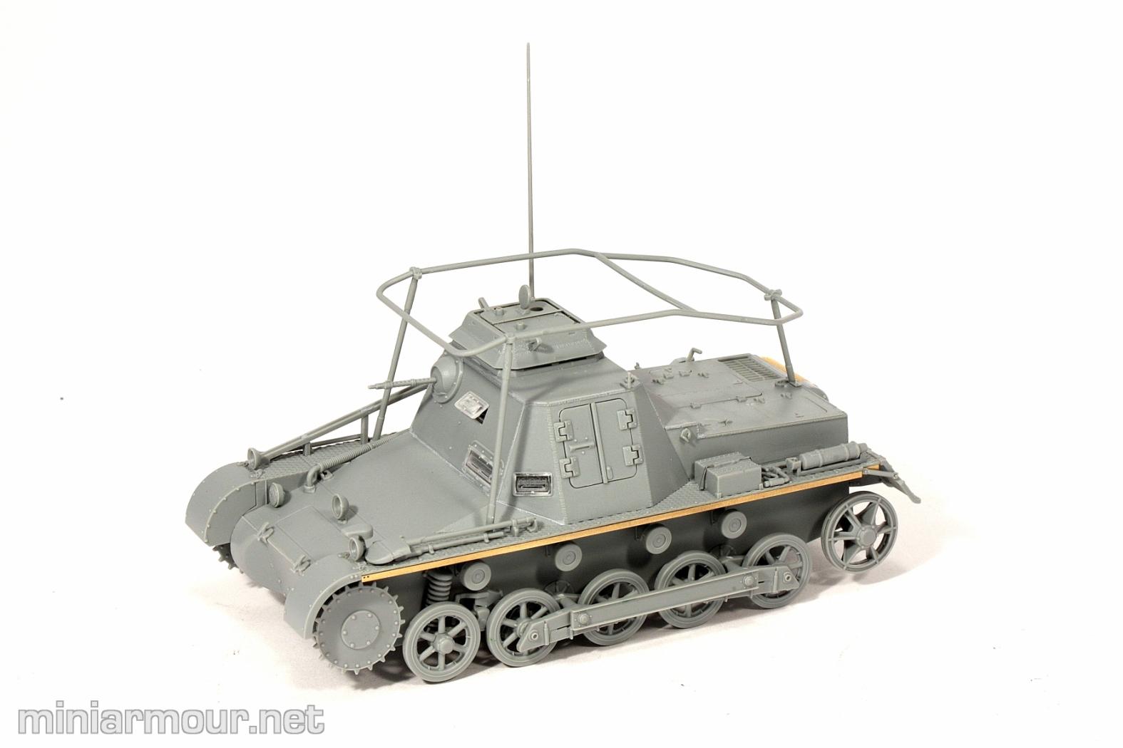 Kleine Panzerbefehlswagen I – Part 1: Construction – MiniArmour