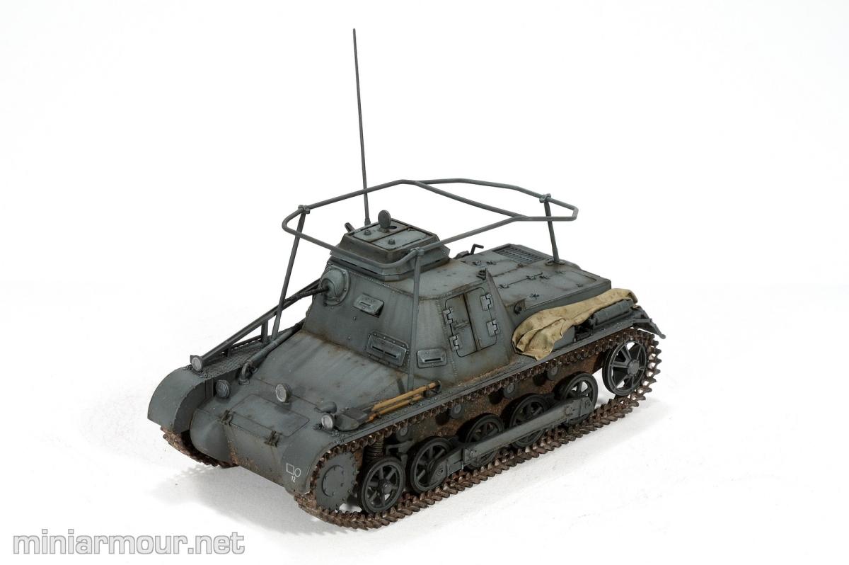 Kleine Panzerbefehlswagen I – Part 7: Pigments and weathering ...