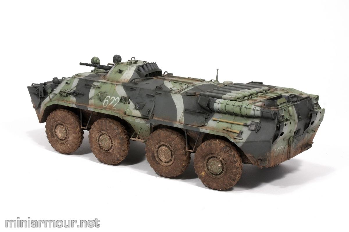BTR-80: Weathering – Part 2 – MiniArmour