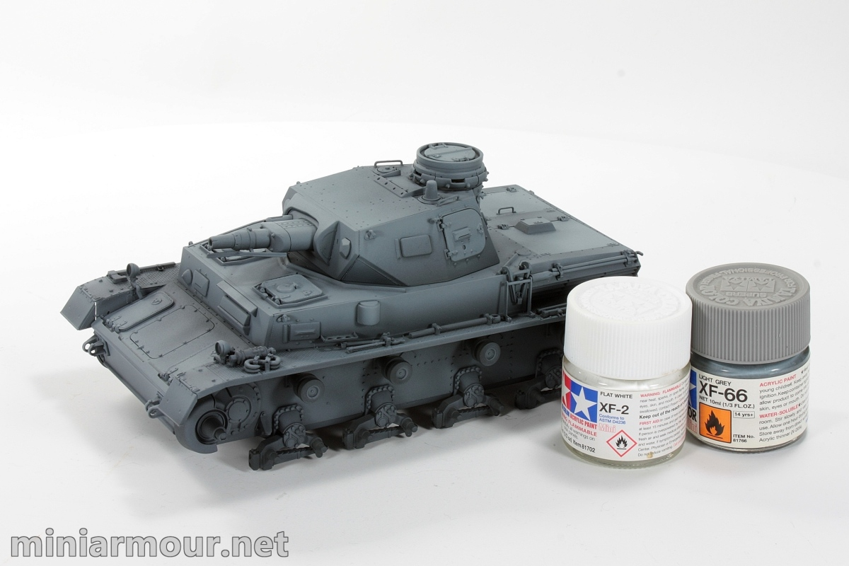 Panzer IV Ausf C - Part 2: Painting