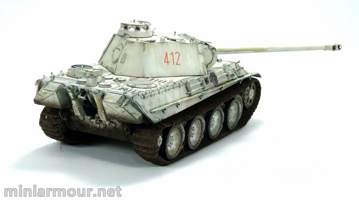 Panther G - part 5: Weathering